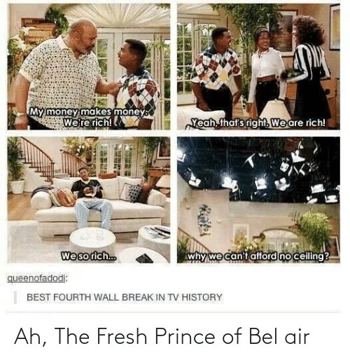 Prince: Ah, The Fresh Prince of Bel air