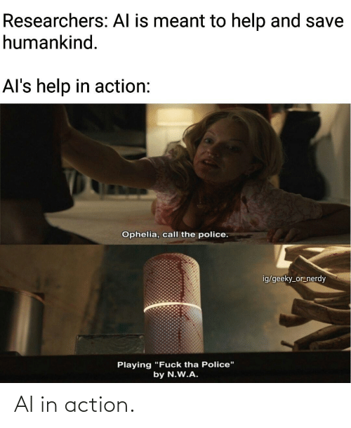 action: AI in action.