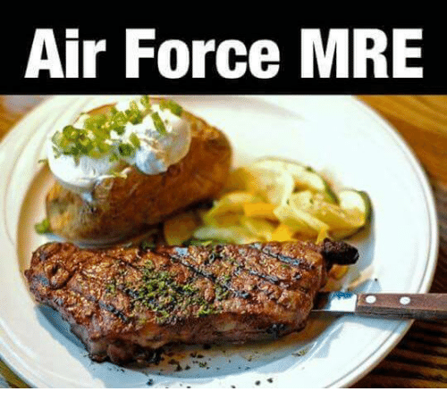 Air Force, Military, and Air: Air Force MRE