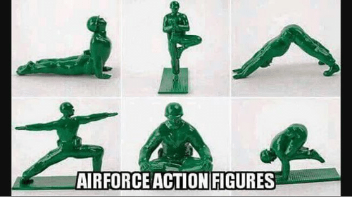 Action Figures: AIRFORCE ACTION FIGURES
