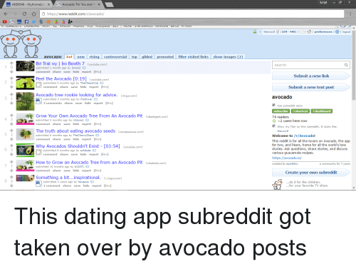 best dating subreddits A categorized grouping of subreddits search 3,000 | sorter | music | about | data | contact.
