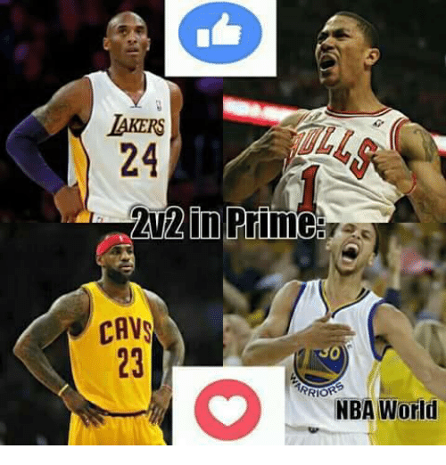 Memes, 🤖, and Priming: AKERS  24  in Prime  CAVS  RRIOR  NBA World
