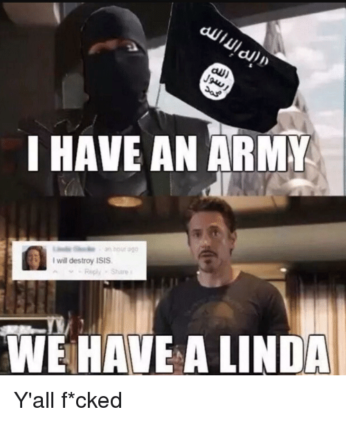 I Will Destroy Isis: al)  I HAVE AN ARMK  I will destroy ISIS  Repy Shae  WE HAVE A LINDA