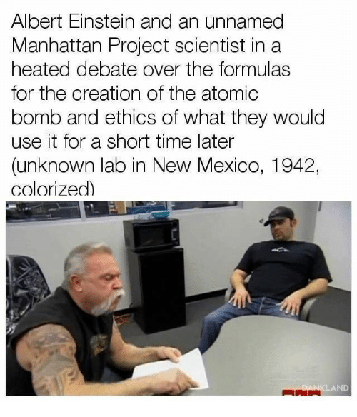 albert einstein and the manhattan project The manhattan project is the story of some of the most renowned scientists of the century combining with industry, the military, and tens of  from albert einstein's formula, e=mc 2.