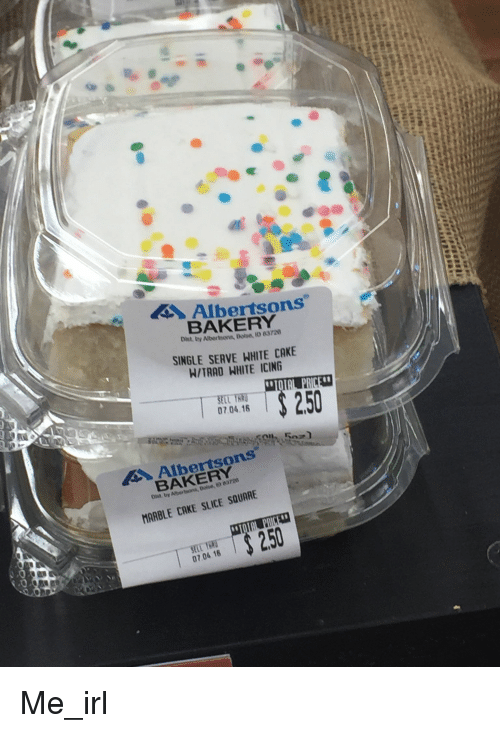 Albertsons Cake Frosting