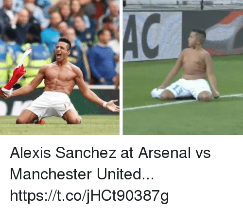 Manchester United: Alexis Sanchez at Arsenal vs Manchester United... https://t.co/jHCt90387g