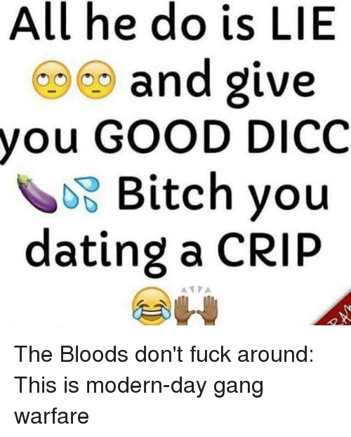 Dating a crip