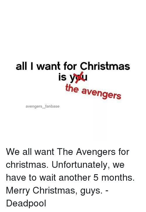 christmas deadpool and avengers all i want for christmas is the avengers avengers - What Do Guys Want For Christmas