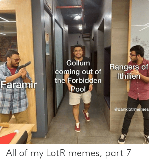 Part: All of my LotR memes, part 7