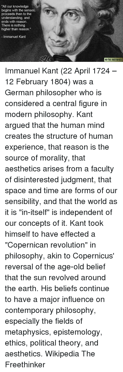 """an introduction to the structure of the mind by kant The fundamental idea of kant's """"critical philosophy"""" – especially in his  itself  depends on the way the human mind structures its experience."""