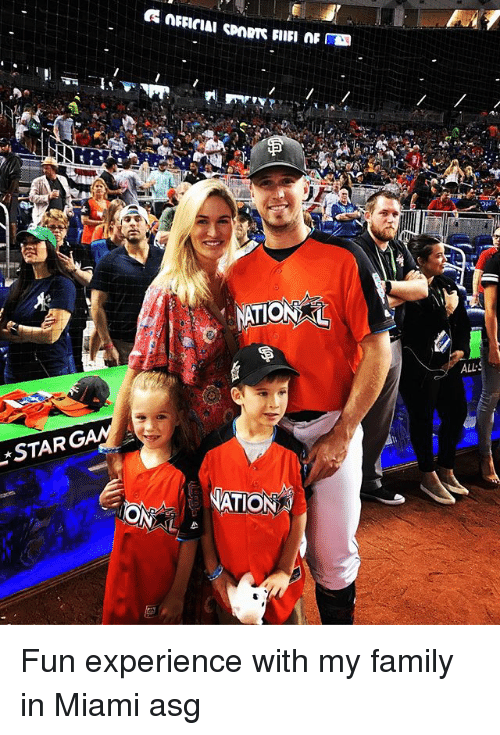All Star, Family, and Memes: ALL  STAR  NATION Fun experience with my family in Miami asg