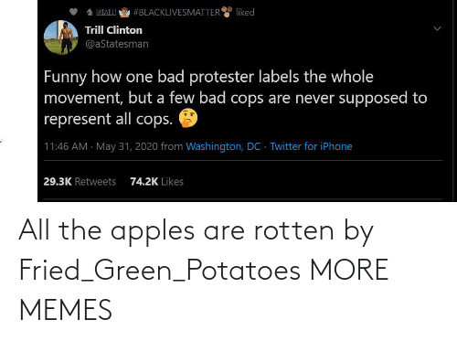 Fried: All the apples are rotten by Fried_Green_Potatoes MORE MEMES
