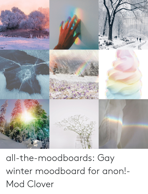 clover: all-the-moodboards:  Gay winter moodboard for anon!-Mod Clover