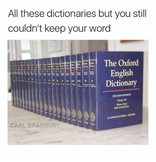 second word in the dictionary