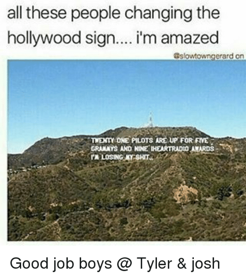 how to change the hollywood sign