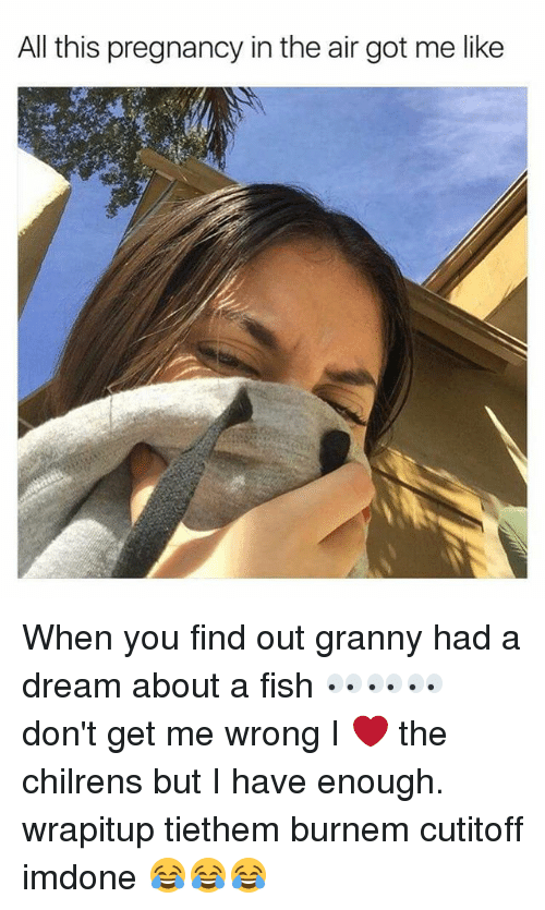 Funny got me like memes of 2017 on sizzle for Fish dream meaning pregnancy