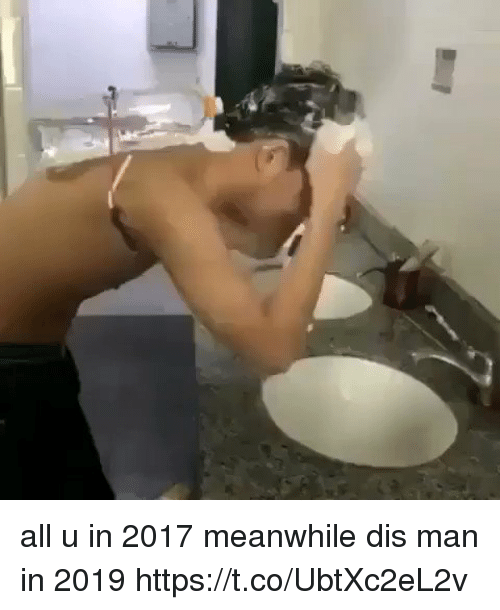 Blackpeopletwitter, Man, and All: all u in 2017 meanwhile dis man in 2019 https://t.co/UbtXc2eL2v