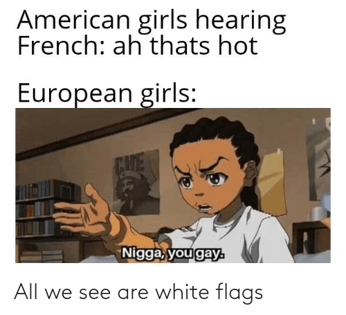 flags: All we see are white flags
