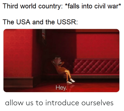 Ourselves: allow us to introduce ourselves