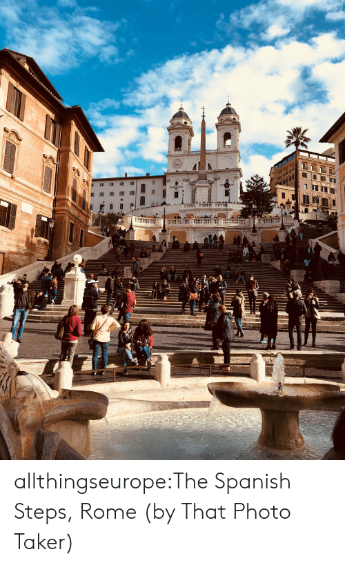 luca: allthingseurope:The Spanish Steps, Rome (by That Photo Taker)