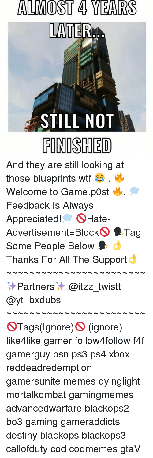 Ignorancy: ALMOST 4 YEARS  LATER  STILL NOT  FINISHED And they are still looking at those blueprints wtf 😂 . 🔥Welcome to Game.p0st 🔥. 💭Feedback Is Always Appreciated!💭 🚫Hate-Advertisement=Block🚫 🗣Tag Some People Below 🗣 👌Thanks For All The Support👌 ~~~~~~~~~~~~~~~~~~~~~~~~ ✨Partners✨ @itzz_twistt @yt_bxdubs ~~~~~~~~~~~~~~~~~~~~~~~~ 🚫Tags(Ignore)🚫 (ignore) like4like gamer follow4follow f4f gamerguy psn ps3 ps4 xbox reddeadredemption gamersunite memes dyinglight mortalkombat gamingmemes advancedwarfare blackops2 bo3 gaming gameraddicts destiny blackops blackops3 callofduty cod codmemes gtaV