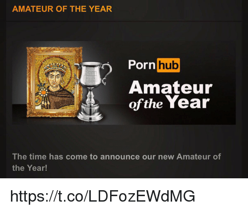 amateur: AMATEUR OF THE YEAR  rnhub  Amateur  ofthe Year  The time has come to announce our new Amateur of  the Year! https://t.co/LDFozEWdMG