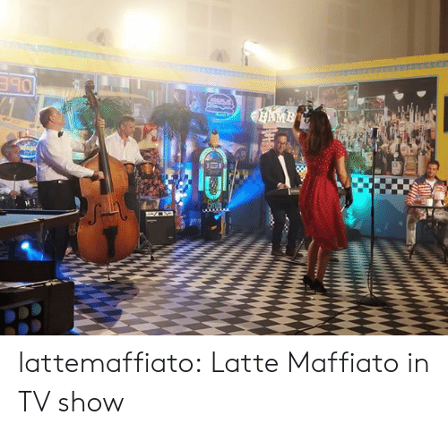 tv show: AMB lattemaffiato: Latte Maffiato in TV show