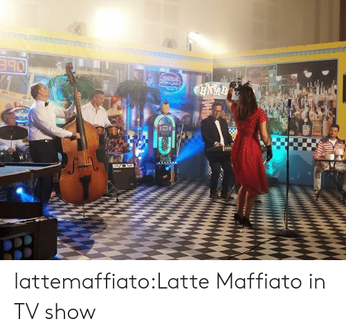 tv show: AMB lattemaffiato:Latte Maffiato in TV show