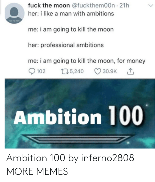 Ambition: Ambition 100 by inferno2808 MORE MEMES
