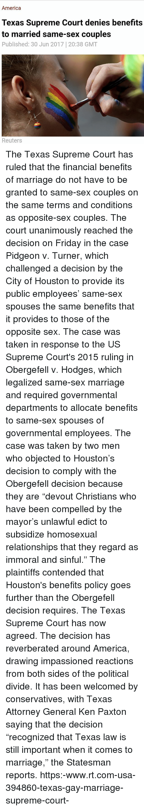 same sex benefits michigan court