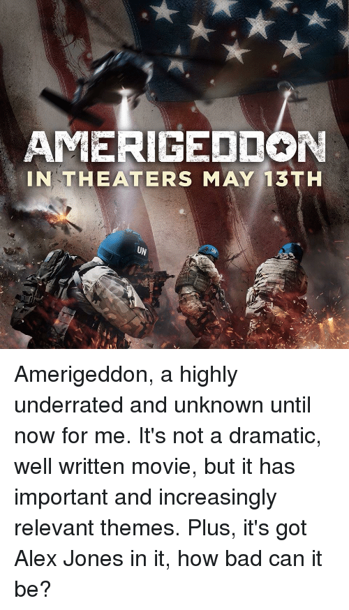 amerigeddon in theaters