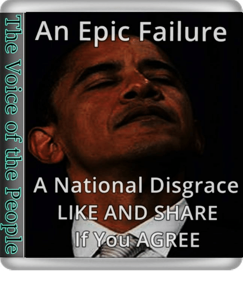 Memes, Failure, and 🤖: An Epic Failure  A National Disgrace  LIKE AND SHARE