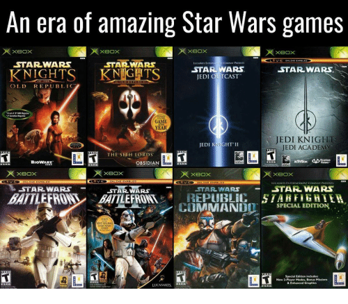 Star Wars Game For Xbox 1 : Funny gmr memes of on sizzle me gustas