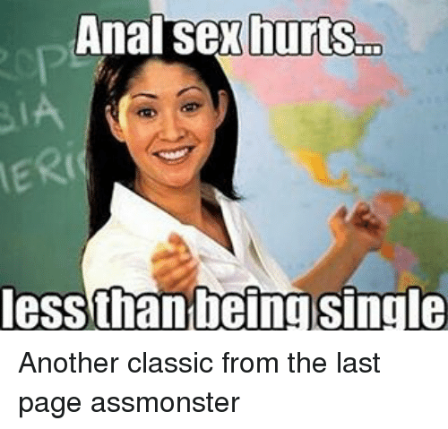 Message how to make anal hurt less