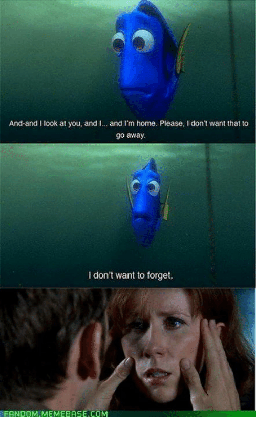 memebase: And-and I look at you, and i.  and I'm home. Please, I don't want that to  go away.  I don't want to forget.  FANDOM MEMEBASE.COM