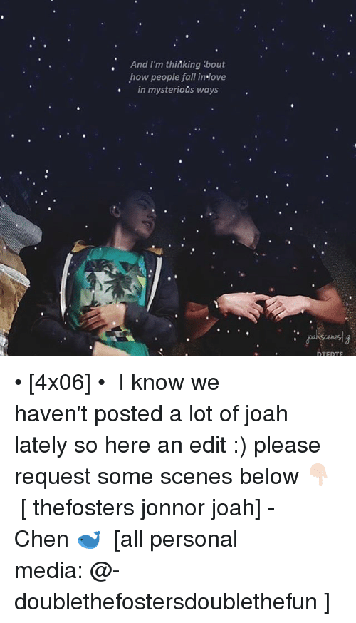 Jonnor: And I'm thinking about  how people fall in ove  in mysterious ways  DTF DTF • [4x06] • ⠀⠀⠀⠀⠀⠀⠀⠀⠀ I know we haven't posted a lot of joah lately so here an edit :) please request some scenes below 👇🏻⠀⠀⠀⠀⠀⠀⠀⠀⠀ [ thefosters jonnor joah] -Chen 🐋 ⠀⠀⠀⠀⠀⠀⠀⠀⠀ [all personal media: @-doublethefostersdoublethefun ]