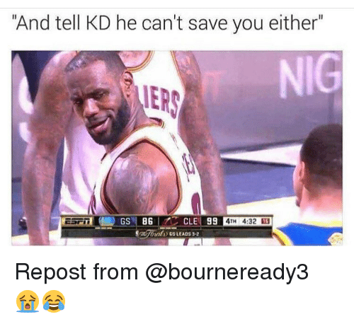 """Nba: """"And tell KD he can't save you either"""" IERS 4TH 4:32 14Repost ..."""