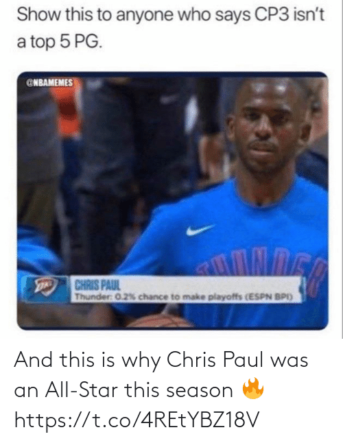 Chris Paul: And this is why Chris Paul was an All-Star this season 🔥 https://t.co/4REtYBZ18V
