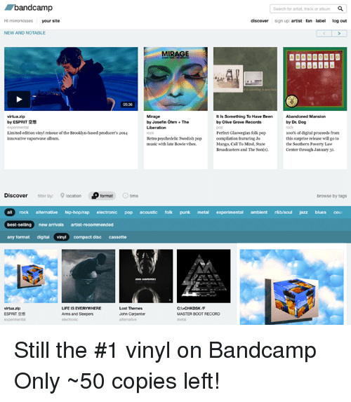 Andcamp Search For Artist Track Or Album Hi Mirrorkisses
