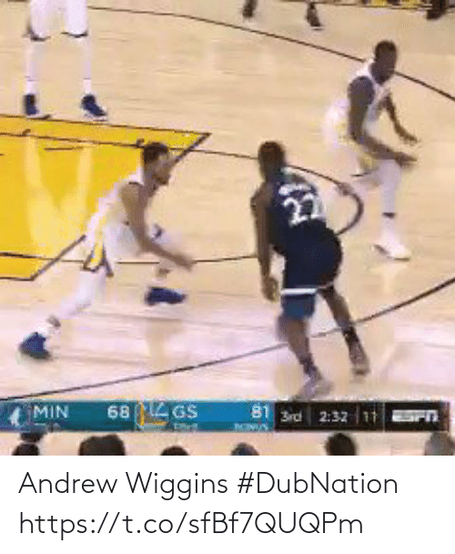 andrew: Andrew Wiggins #DubNation   https://t.co/sfBf7QUQPm