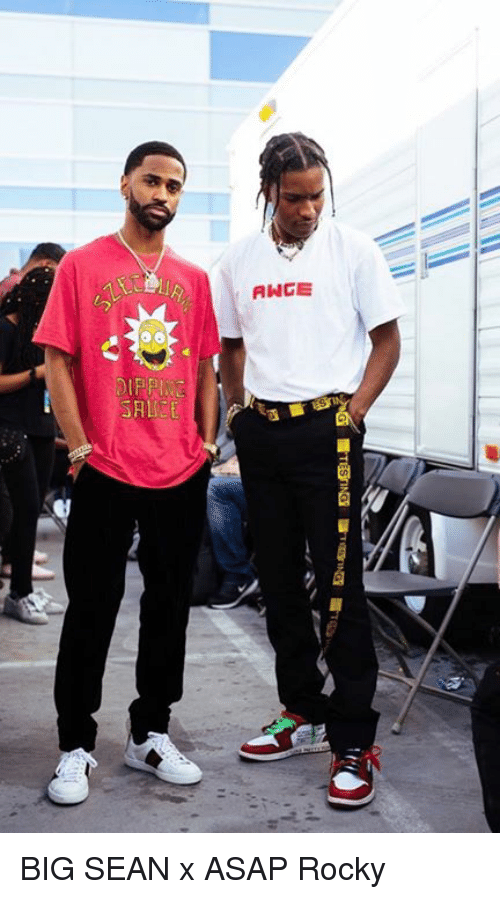 Big Sean: ANGE BIG SEAN x ASAP Rocky
