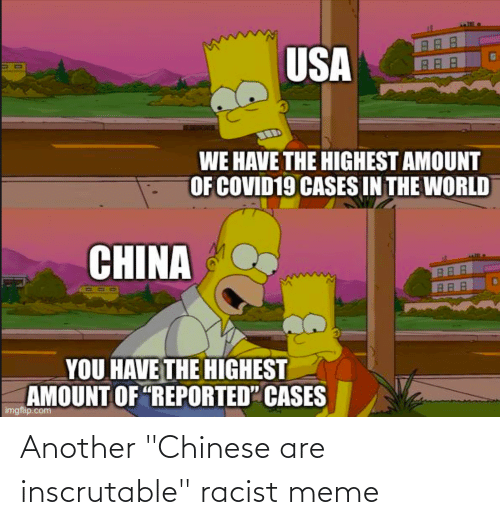 """Racist Meme: Another """"Chinese are inscrutable"""" racist meme"""