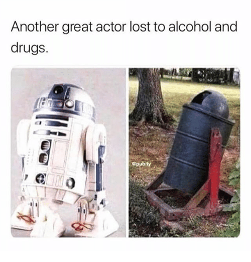 Drugs, Memes, and Lost: Another great actor lost to alcohol and  drugs.  Gpubity