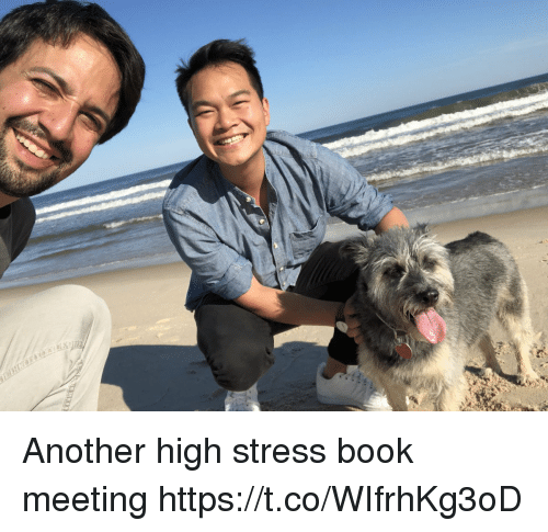 Memes, Book, and 🤖: Another high stress book meeting https://t.co/WIfrhKg3oD