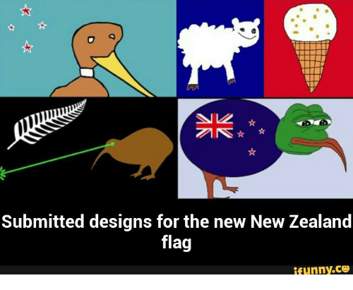 Pepe Illuminati: ANS  Submitted designs for the new New Zealand  flag  ifunny.CO