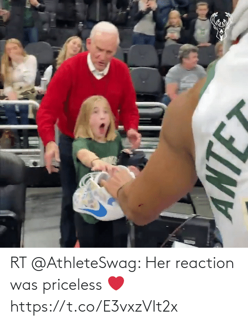 ante: ANTE RT @AthleteSwag: Her reaction was priceless ❤️ https://t.co/E3vxzVIt2x