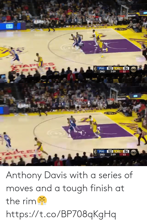 Anthony: Anthony Davis with a series of moves and a tough finish at the rim😤 https://t.co/BP708qKgHq