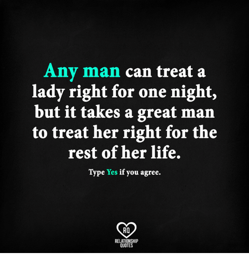 Treat Your Girl Right Or Someone Else Will: Treat Her Right ...