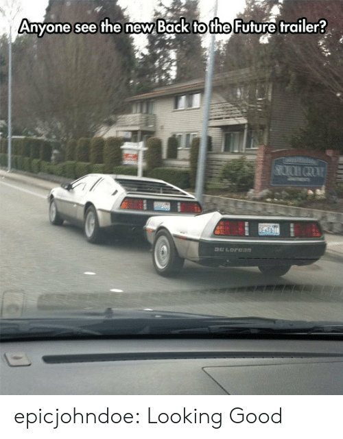 Back to the Future: Anyone  see the new Back to the Future  trailer? epicjohndoe:  Looking Good