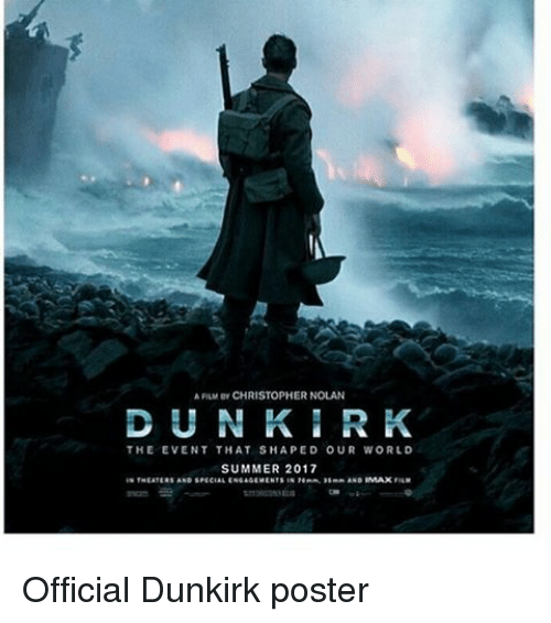 APLIM or CHRISTOPHER NOLAN DUN R K THE EVENT THAT SHAPED ...